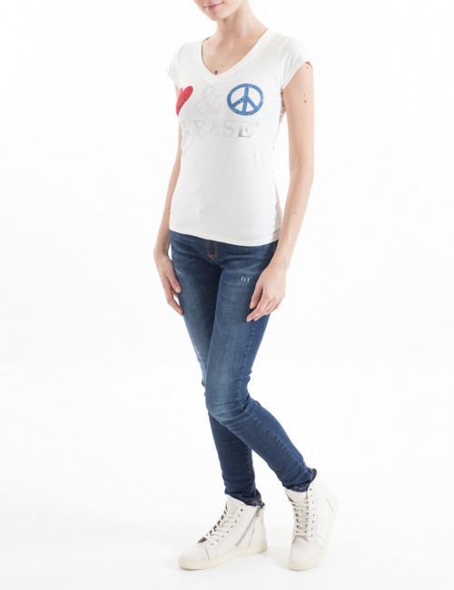 T-shirt Love Moschino donna