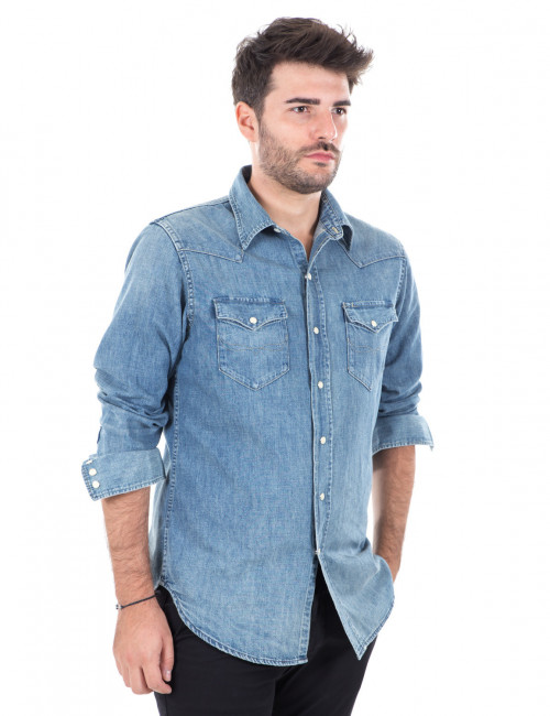 Camicia denim Ralph Lauren