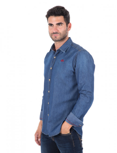 Camicia denim La Martina