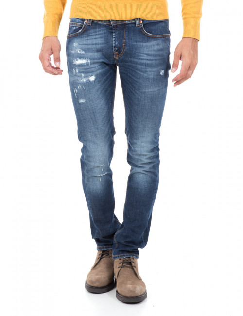 Jeans Roy Roger's strappato