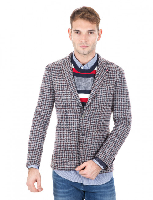 Giacca Tommy Hilfiger in pied de poule