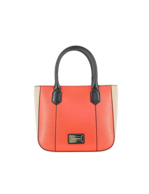 Borsa a mano medium Emporio Armani colorata