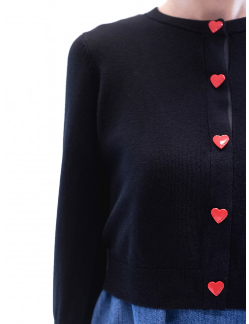 Cardigan Love Moschino