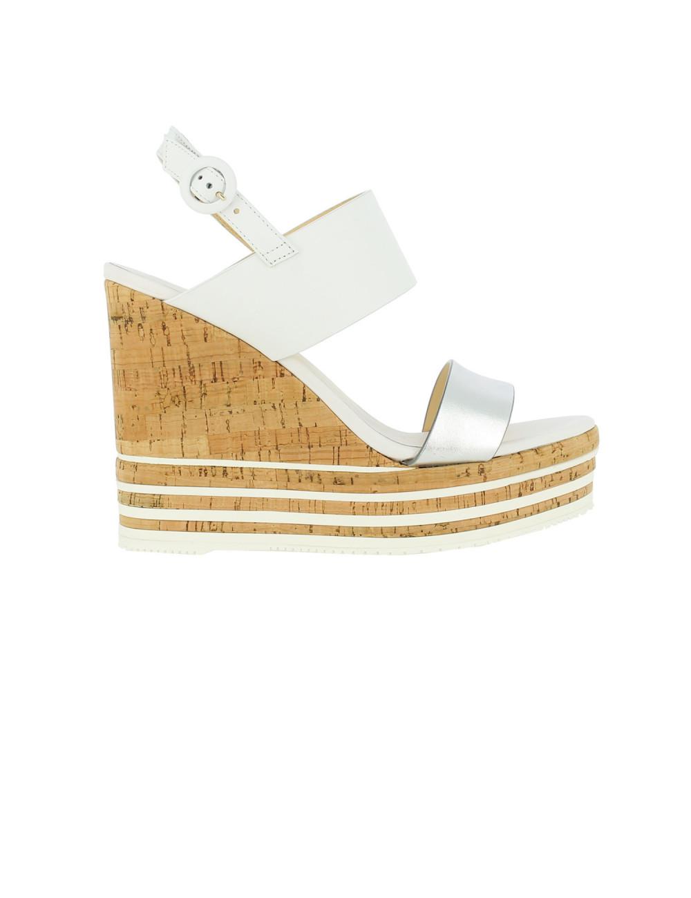 Sandalo alto con zeppa H361 Hogan