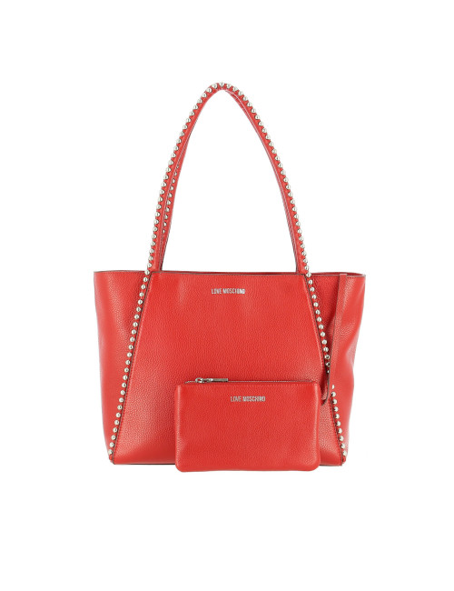 Borsa a spalla Love Moschino in pelle