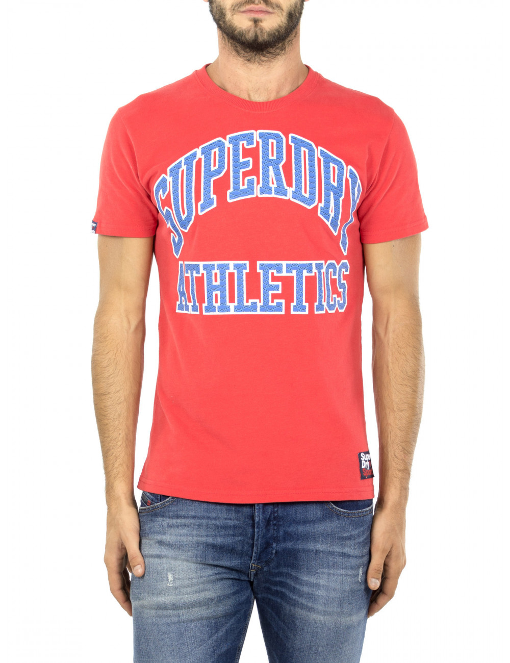 T-shirt Team Tigers Podium Superdry