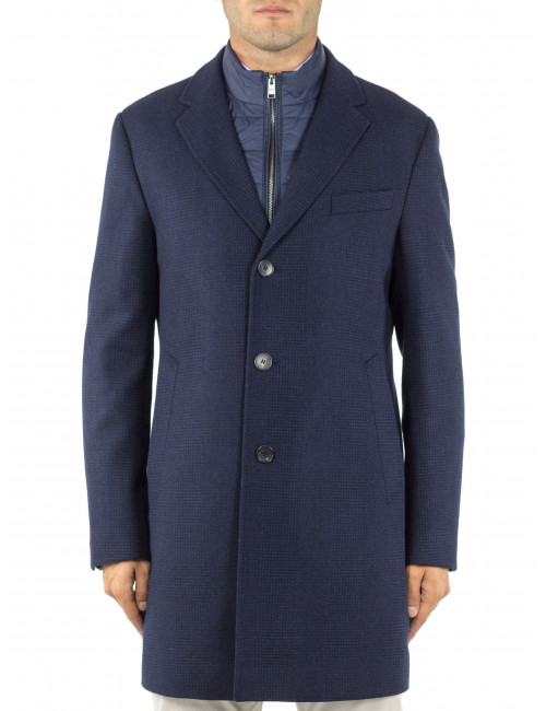 Cappotto double front Boss Uomo