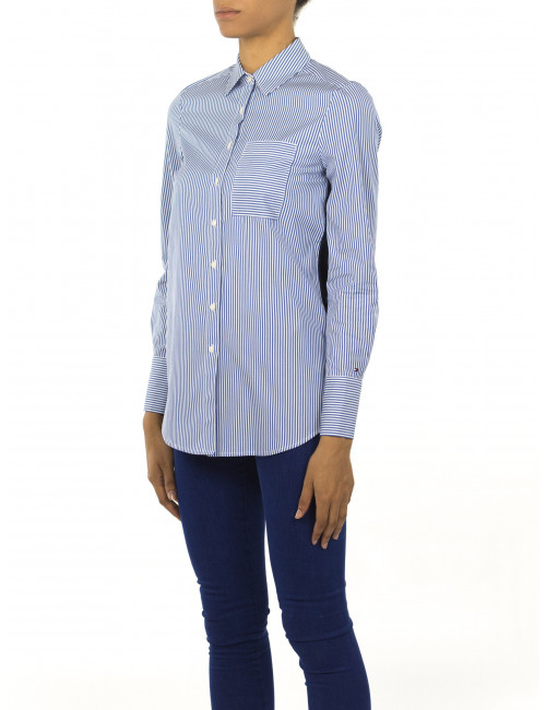 Camicia a righe Tommy Hilfiger
