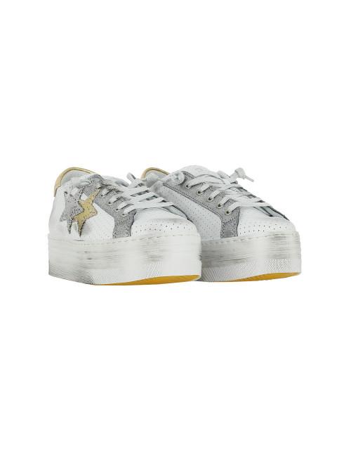 best website 8e5a9 9f04d Sneaker con zeppa 2STAR