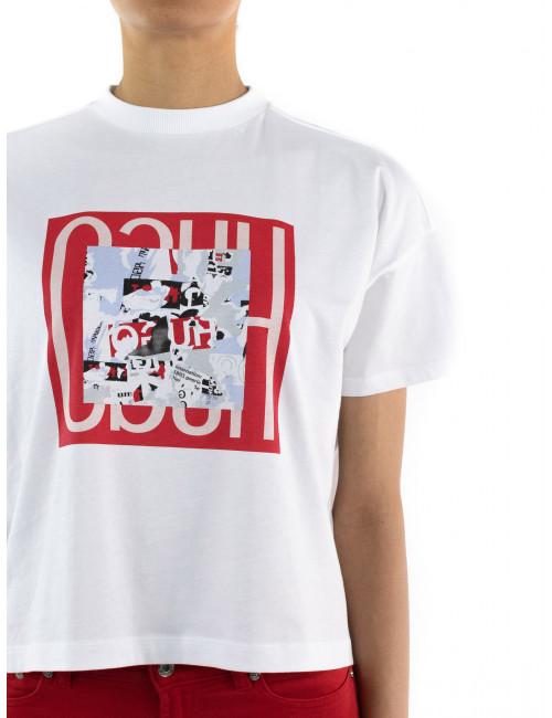 T-shirt corta Hugo Donna