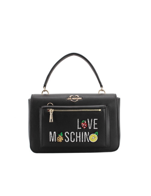Borsa a mano con Clutch Love Moschino