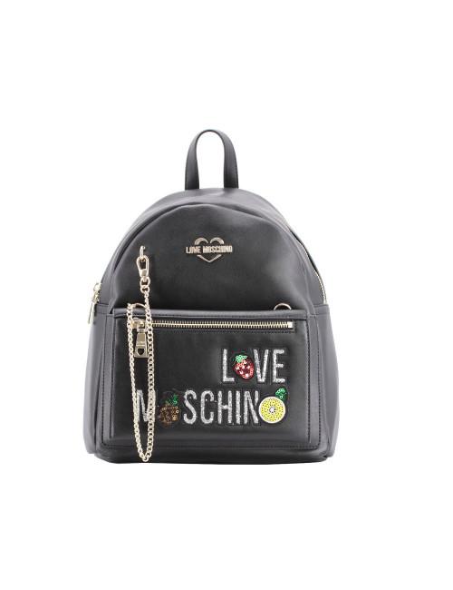 Zaino con Clutch love Moschino