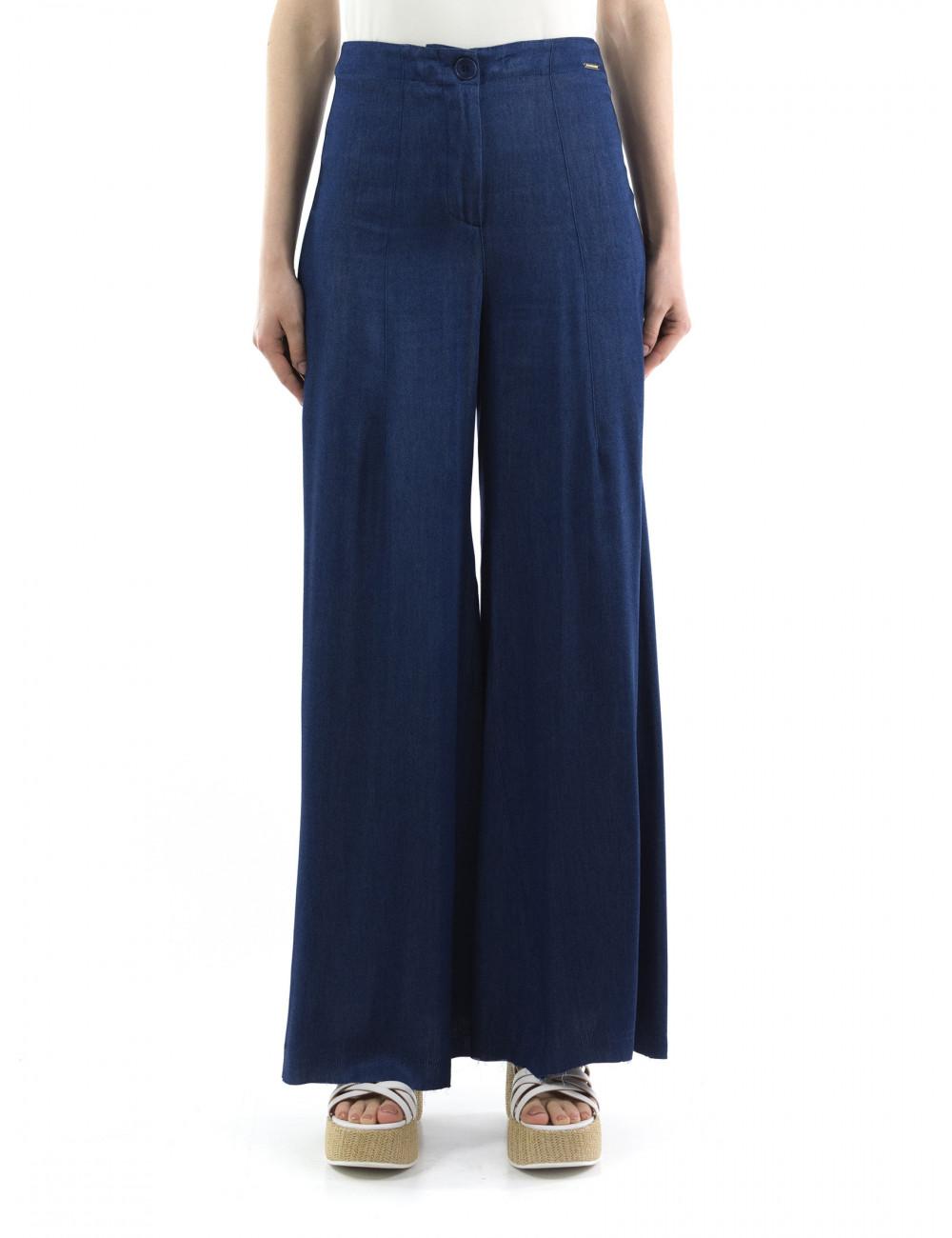 Pantalone ampio Carla Montanarini
