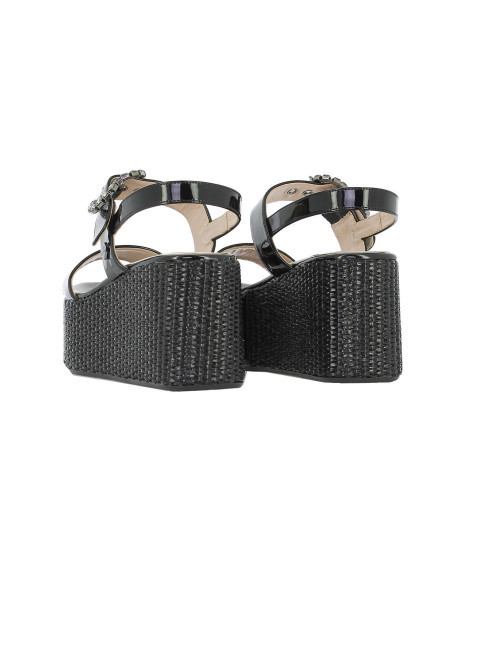 Sandalo platform Love Moschino