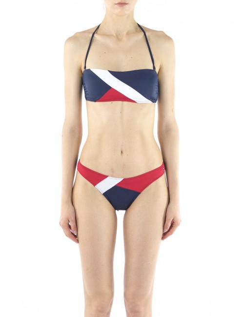 Top bikini a fascia Tommy Hilfiger