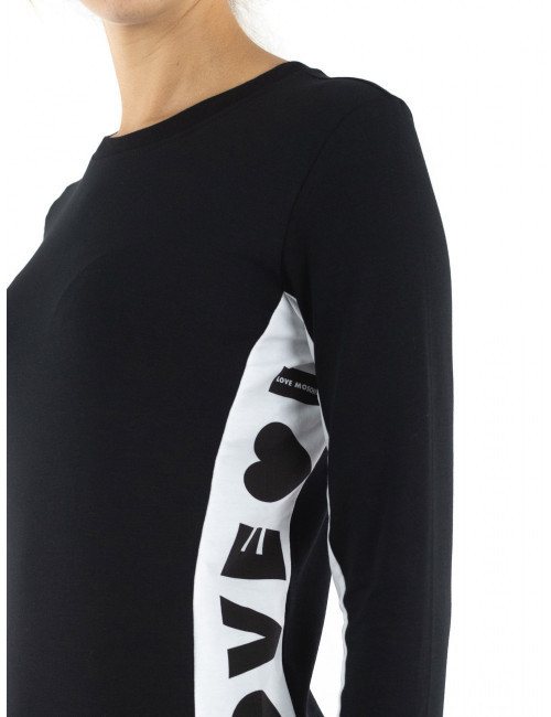 T-shirt maniche lunghe Love Moschino