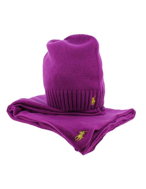 reputable site 34da6 f5fad Sciarpa e cappello Ralph Lauren