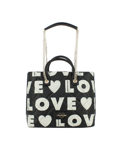 Shopper trapuntata Love Moschino