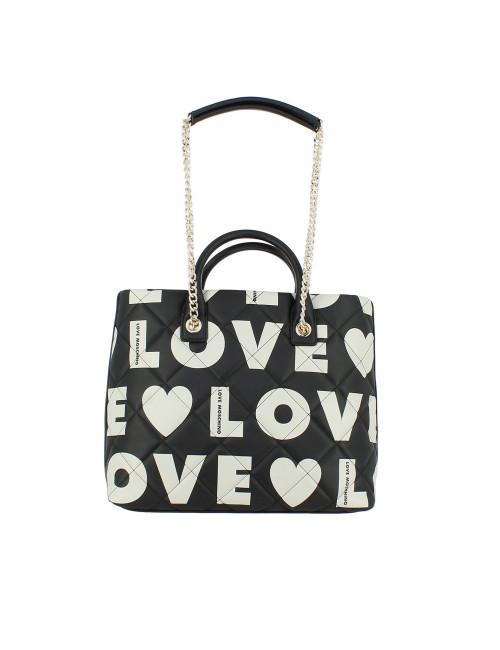 Shopper trapuntata Love Moschino