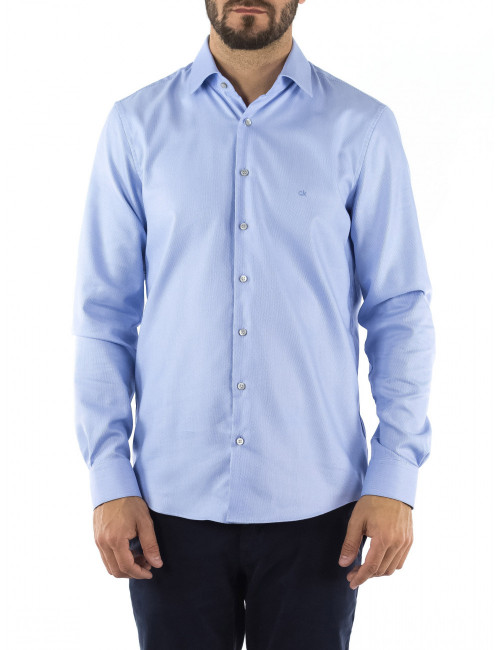 Camicia Fitted Calvin Klein