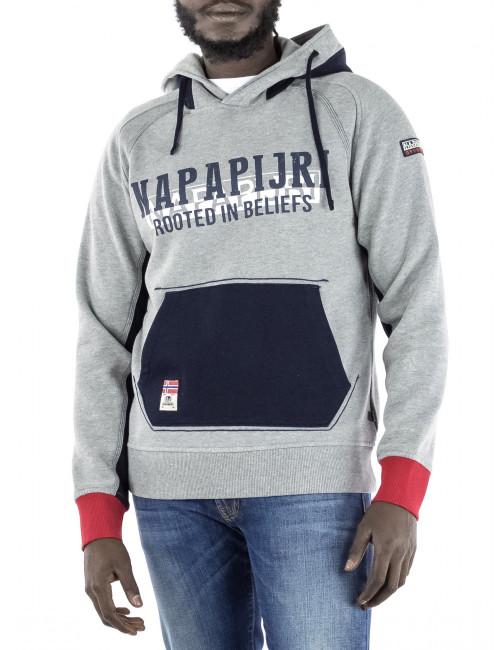 Felpa con cappuccio Napapijri