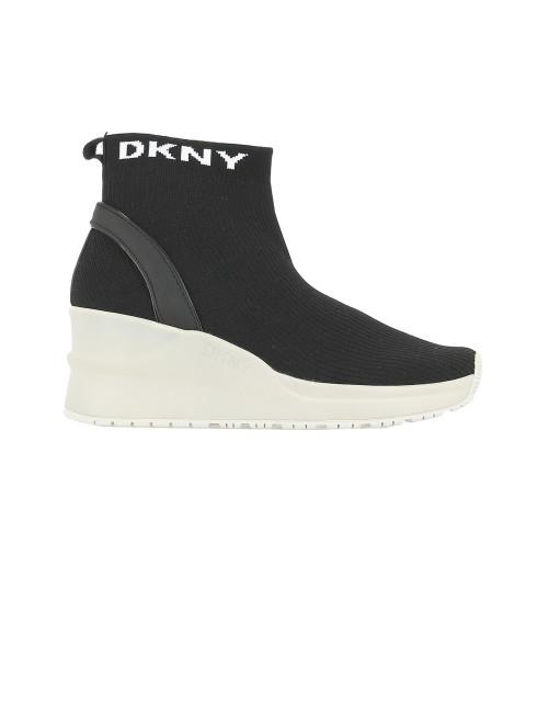 Sneaker con zeppa DKNY
