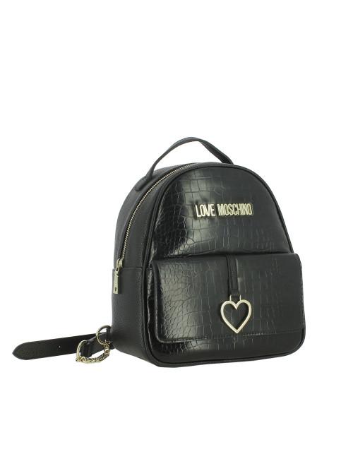 Zaino Heart Charm Love Moschino