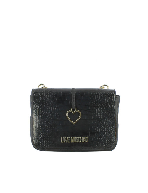 Borsa a spalla Heart Charm Love Moschino