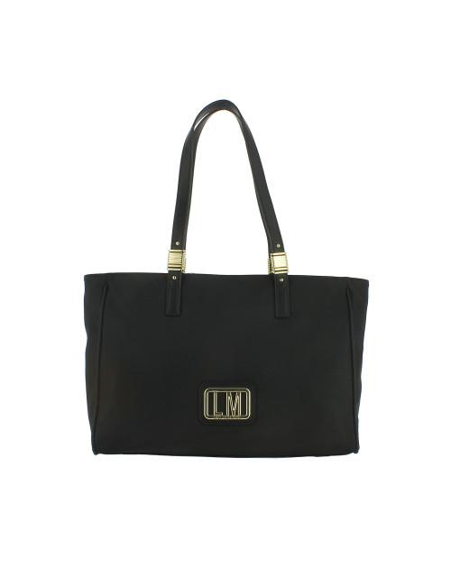Shopper LM Plaque Love Moschino