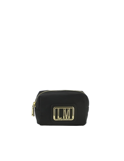 Trousse LM Plaque Love Moschino