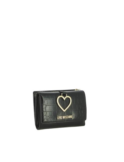 Portafoglio Heart Charm Love Moschino
